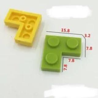 [ Gạch lẻ ] 10 viên Gạch chữ L kích thước 2×2 – tương thích với Lego