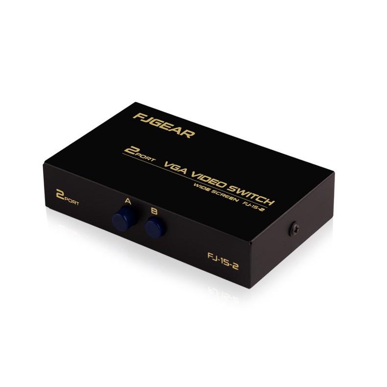 Bộ gộp VGA 2 vào 1 ra (2 Port VGA Video Switch) FJGEAR - Gộp 2 máy tính vào 1 màn hình TV, máy chiếu - 3452977 , 999365327 , 322_999365327 , 187000 , Bo-gop-VGA-2-vao-1-ra-2-Port-VGA-Video-Switch-FJGEAR-Gop-2-may-tinh-vao-1-man-hinh-TV-may-chieu-322_999365327 , shopee.vn , Bộ gộp VGA 2 vào 1 ra (2 Port VGA Video Switch) FJGEAR - Gộp 2 máy tính vào 1 m