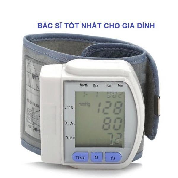 [SALE 10%] Máy đo huyết áp cổ tay nhỏ gọn tiện lợi CK-102S