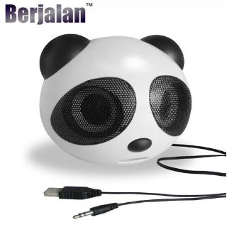 Loa siêu trầm USB Panda 2.5W dễ thương Kết nối với PC, Notebook, Điện thoại di động BBS13