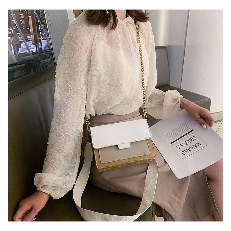 túi xách nữ đeo chéo thời trang - 22119372 , 3105639976 , 322_3105639976 , 221500 , tui-xach-nu-deo-cheo-thoi-trang-322_3105639976 , shopee.vn , túi xách nữ đeo chéo thời trang