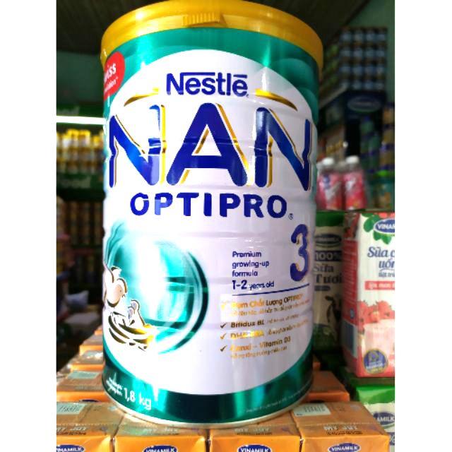 Sữa NAN OPTIPRO 3 1,8kg sản xuất tại Phi