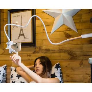 Lười biếng điện thoại di động khung giường để bàn phổ quát phát sóng trực tiếp xem tivi