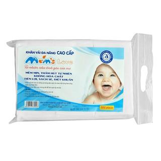 Giấy khô đa năng cho bé gói 300 tờ momlove