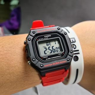 Đồng hồ dây nhựa Casio Nam W-218 chính hãng bảo hành 1 năm Pin trọn đời