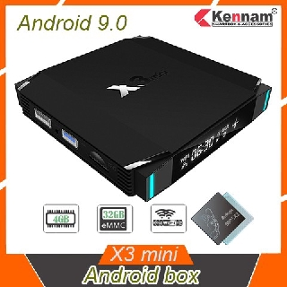 TV Box X3 MINI Ram 4GB DDR4 Rom 32GB Amlogic S905X3 Android 9.0 – X3 MINI 4+32G