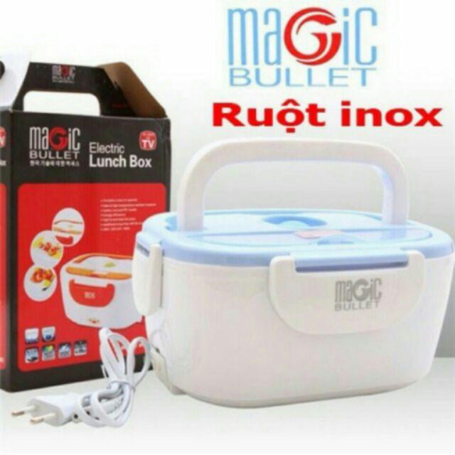 Hộp cơm hâm nóng, hộp cơm giữ nhiệt Ruột INOX Magic Bullet - 9934612 , 308443445 , 322_308443445 , 139000 , Hop-com-ham-nong-hop-com-giu-nhiet-Ruot-INOX-Magic-Bullet-322_308443445 , shopee.vn , Hộp cơm hâm nóng, hộp cơm giữ nhiệt Ruột INOX Magic Bullet