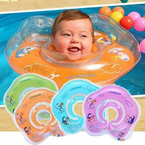 Phao bơi đỡ cổ tập bơi cho bé