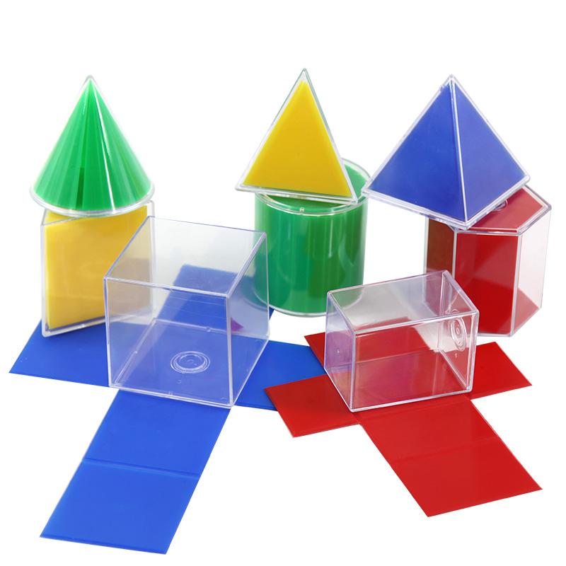 Đồ chơi toán học hình trụ vuông cho trẻ em