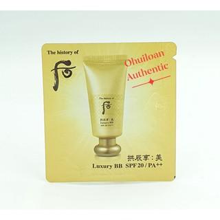 Combo 10 Gói Luxury BB Cream Hoàng Cung Cao Cấp Whoo thumbnail