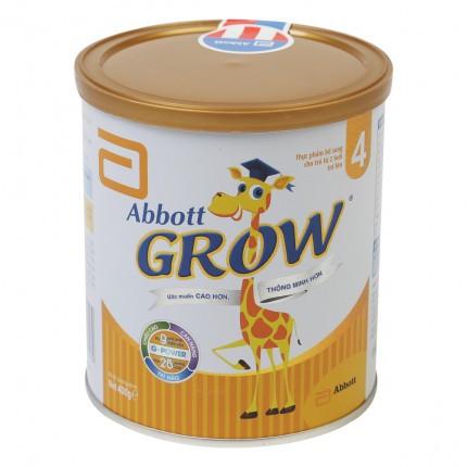 [Mã MKBC217 giảm 80K đơn 1tr] Sữa bột Abbott Grow 4 hương Vani 400g