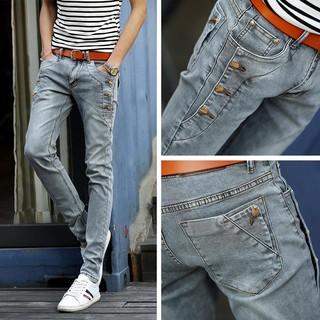 Quần Jeans Nam Màu Xám Size 27-36