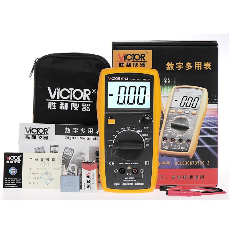 Đồng hồ số Victor VC6013 chuyên đo tụ từ 200pF - 20000uF - 3176629 , 1142500876 , 322_1142500876 , 700000 , Dong-ho-so-Victor-VC6013-chuyen-do-tu-tu-200pF-20000uF-322_1142500876 , shopee.vn , Đồng hồ số Victor VC6013 chuyên đo tụ từ 200pF - 20000uF