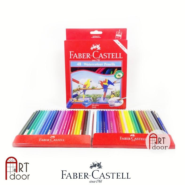 [ARTDOOR] Faber Castell 48 Màu Chì Nước (hộp giấy)