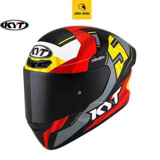 Mũ bảo hiểm fullface KYT TT Course tem Flux số 5 size M L XL chính hãng
