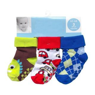 Set 3 đôi vớ Sanlutoz dễ thương dành cho bé sơ sinh