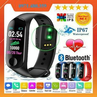 [Mã 2404EL10K giảm 10K đơn 20K] Đồng hồ thông minh thể thao M3 kết nối Bluetooth