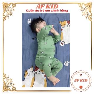 Bộ Dài Tay Gấu Panda Cho Bé 💖 Cao Cấp 💖 Bộ dài tay mềm mịn cho bé trai bé gái