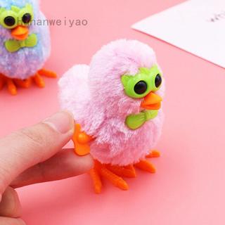 1 đồ chơi gà con đeo kính nhồi bông màu sắc ngẫu nhiên cho bé