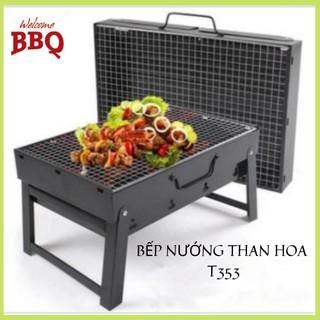 Bếp nướng than hoa không khói BBQ ngoài trời cao cấp T353 (bán buôn - bán lẻ) thumbnail