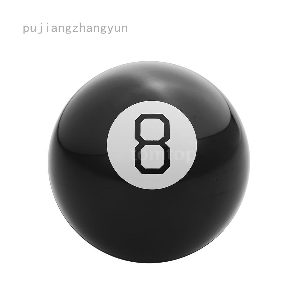 Quả Bóng Ma Thuật Màu Đen Cho Bé 10cm