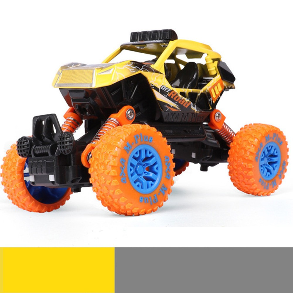 Children Inertial Off-Road Vehicle Car Model Pull Back Toys Car Boys Gift