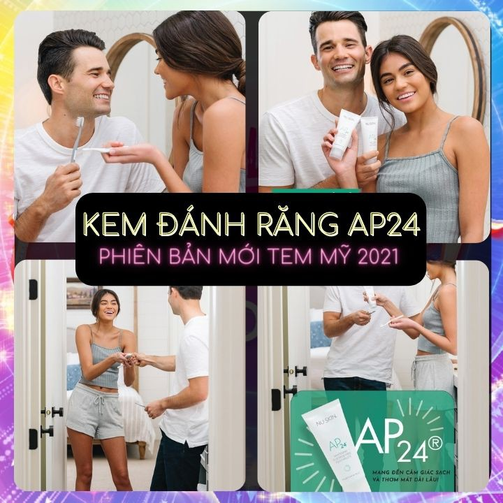 Kem Đánh Răng AP24 NuSkin Chính Hãng - Chống Mảng Bám   Anti-Plaque Fluoride Toothpaste