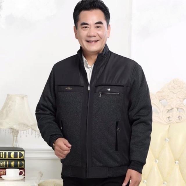 áo khoác nam trung tuổi💖FREESHIP💖áo phao nam trung tuổi