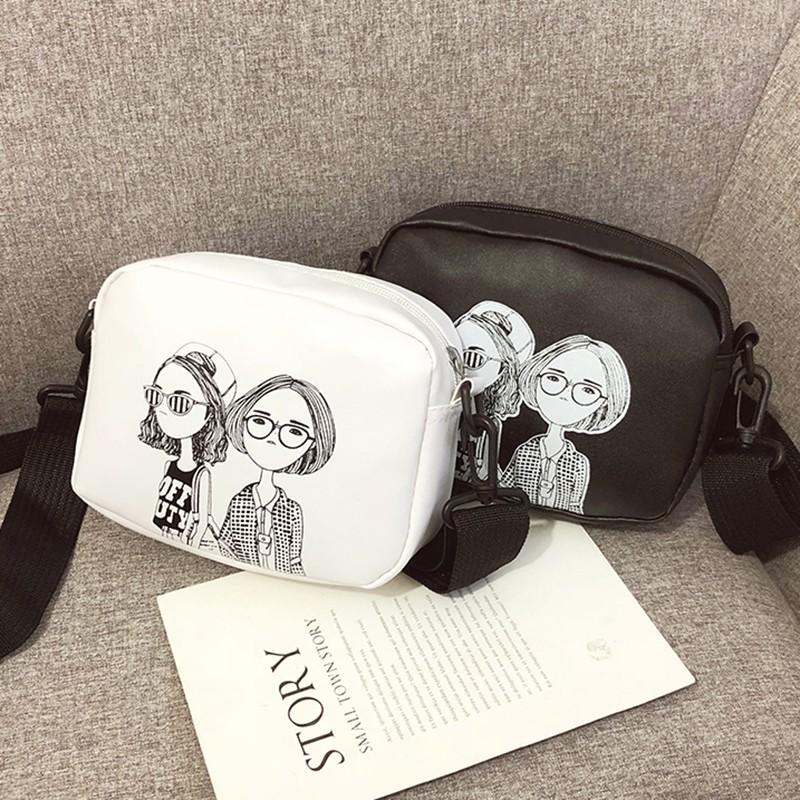 [NGHỆ AN] Túi đeo chéo nữ, túi hộp hình cô gái  1972  buontobanlon_store