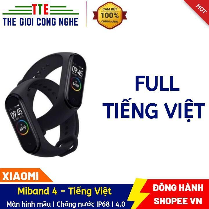 (Quốc Tế - Full Tiếng Việt ) Vòng đeo tay thông minhMiband 4 - theo dõi sức khỏe Xiaomi Mi Band 4