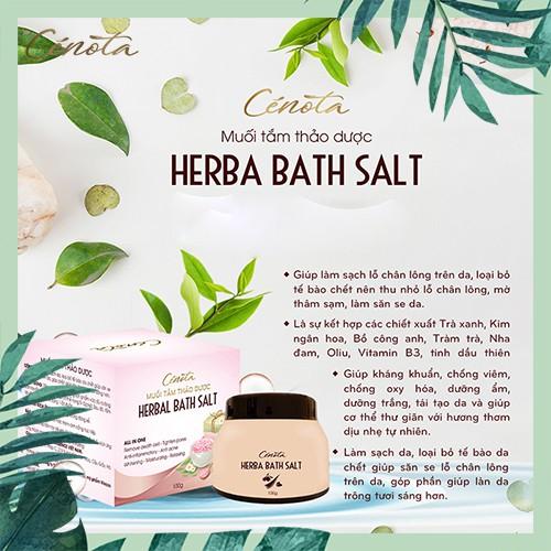 Muối tắm thảo dược tự nhiên, muối tắm làm sạch lỗ chân lông - C02 Lici
