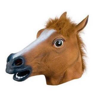 Mặt Nạ Cosplay Đầu Ngựa Siêu Chất BDSM