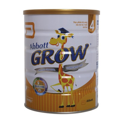 [Mã 267FMCGSALE giảm 8% đơn 500K] Sữa Abbott grow 4 900g