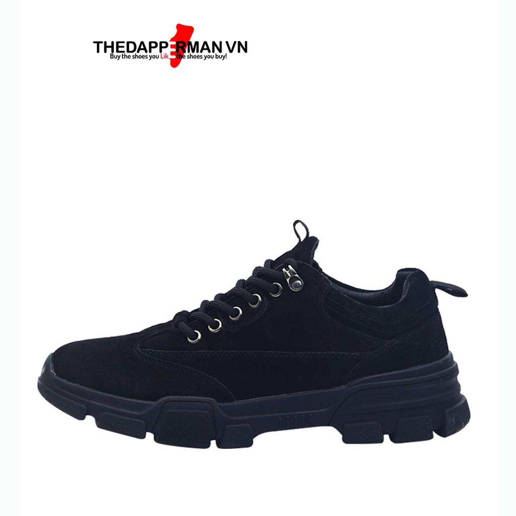 Giày Thể Thao Nam Sneaker Thedapperman D101 Màu Đen