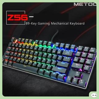 BÀN PHÍM CƠ ZERO METOO Z56 LED RAINBOW (TKL CÓ NUMBLOCK) thumbnail