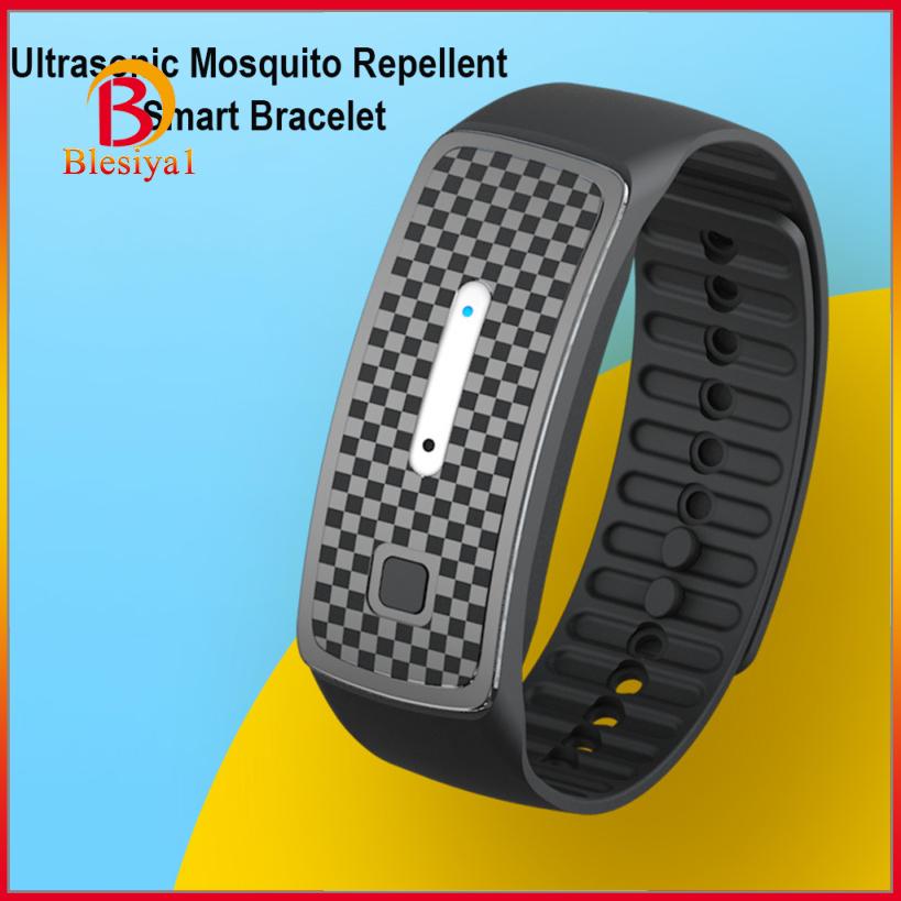 (Hàng Mới Về) 1 Vòng Đeo Tay Chống Muỗi Màu Đen Dành Cho Trẻ Em