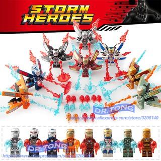 Lego SY1103 Iron Man minifigure