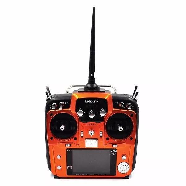 Radiolink AT10II 12CH RC Transmitter and Receiver R12DS 2.4GHz DSSS&FHSS Spread Radio Remote for RC