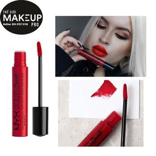Son kem lì chính hãng NYX Liquid suede cream lipstick LSCL thumbnail
