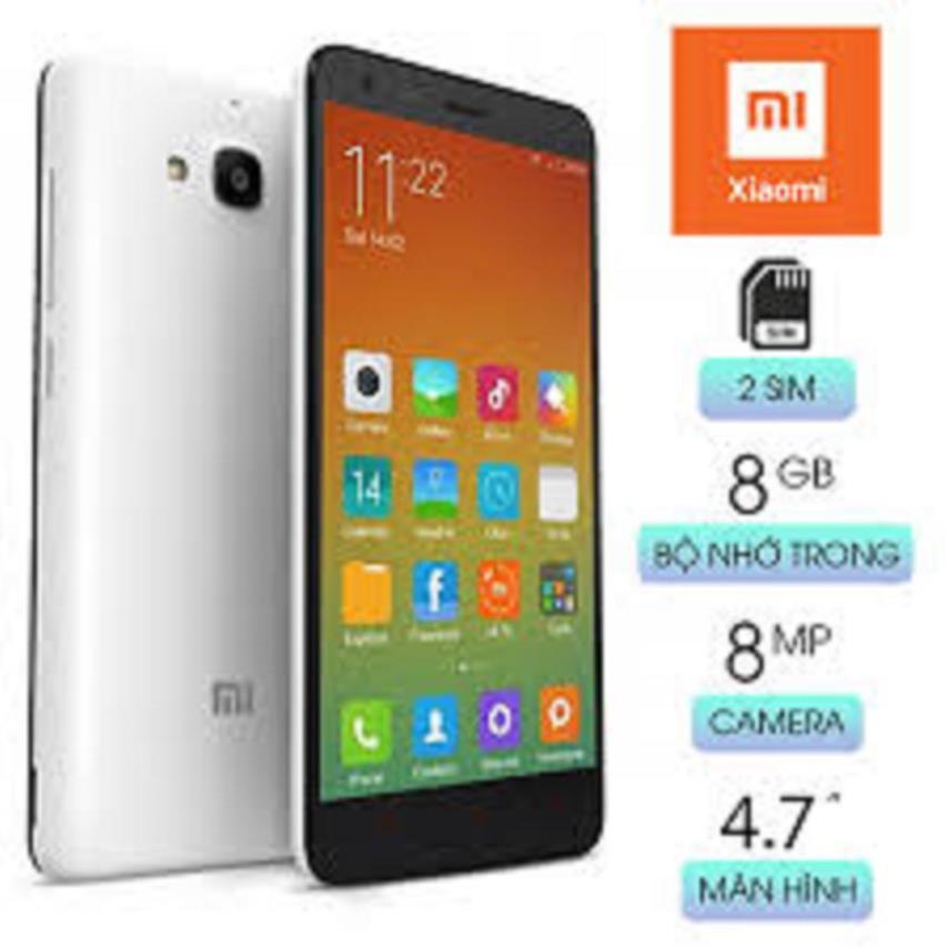 điện thoại Xiaomi Redmi2 2 sim Chính hãng mới, chơi Zalo FB Tiktok Youtube siêu mướt