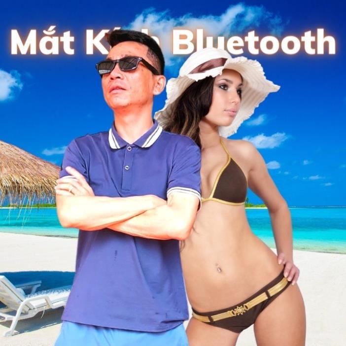 [ Hàng Cao Cấp ] Kính Mắt Thể Thao Bluetooth Nghe Nhạc Nhận Cuộc Gọi Đàm Thoại, Chống nước IPX6
