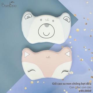 Gối cao su non chống bẹt đầu Gấu Cáo Bamboo by lil thumbnail