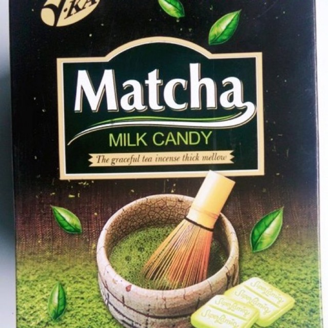 1 HỘP Kẹo MATCHA MILK CANDY Malaysia