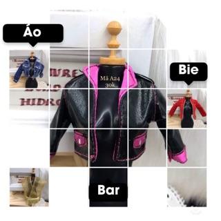Áo khoác búp bê Barbie chính hãng. Mã áo khoác A