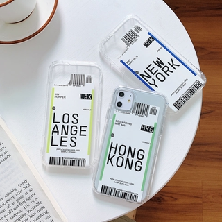 Ốp Lưng Trong Suốt Cho Iphone 12 / Pro / Max / Mini / 11 / Xs Max / Xr / X / I7 / 7p / 8 / 8 Plus
