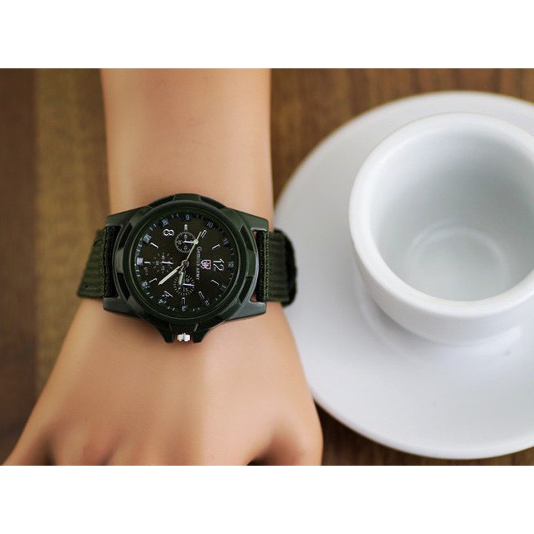 Đồng hồ đeo tay thời trang Army nam nữ cực đẹp DH72 giá rẻ
