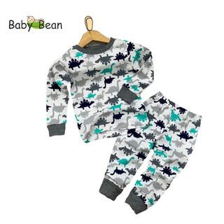 Đồ Bộ Cotton Unisex Tay Dài Bo Ống BabyBean (mẫu ngẫu nhiên)