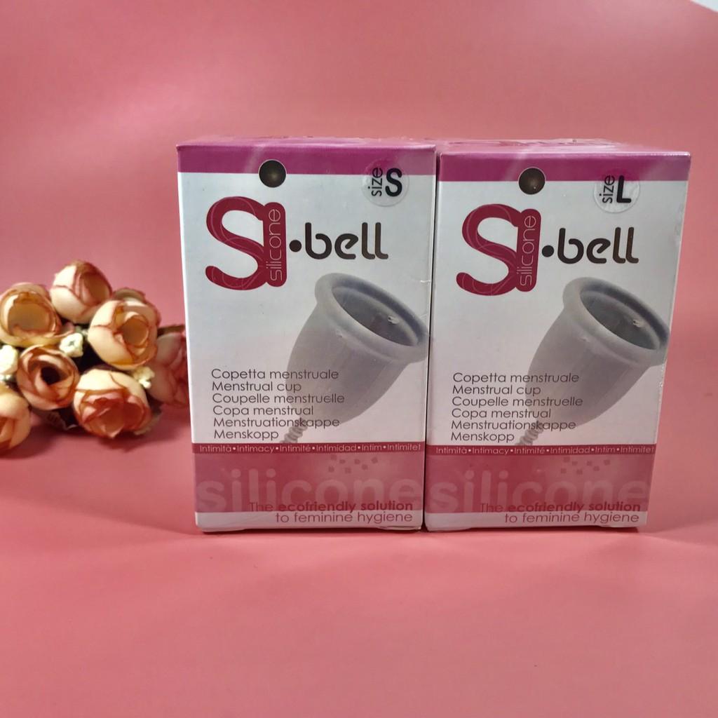 Cốc nguyệt San Sibell (Tặng cọ vệ sinh lỗ khí + túi vải bảo quản + cốc tiệt trùng)