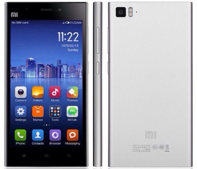 Sale: Điện thoại Xiaomi Mi3 Máy mới nguyên tem hộp pk, Bh 12 tháng
