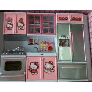 Bộ 3 tủ nhà bếp cho bé